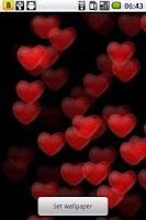 Screenshot of Heart beats Live Wallpaper
