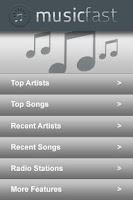 Screenshot of Music Fast Free Version