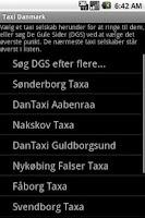 Screenshot of Taxi Denmark
