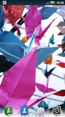 華やかな折り紙ライブ壁紙のおすすめ画像3