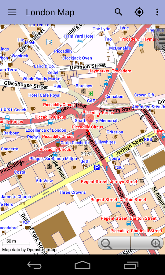 London Offline City Map - screenshot
