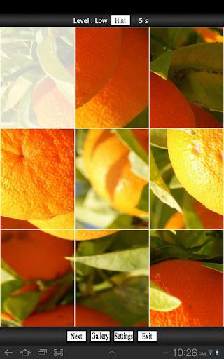 Fun Orange Puzzle Games