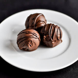 Gooey Chocolate Coconut Truffles.