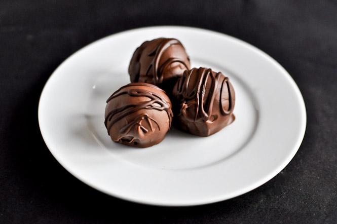 Gooey Chocolate Coconut Truffles