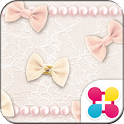 Cute Wallpaper Lace & Ribbons icon