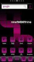 Screenshot of ADW Theme | PinkyBubbles