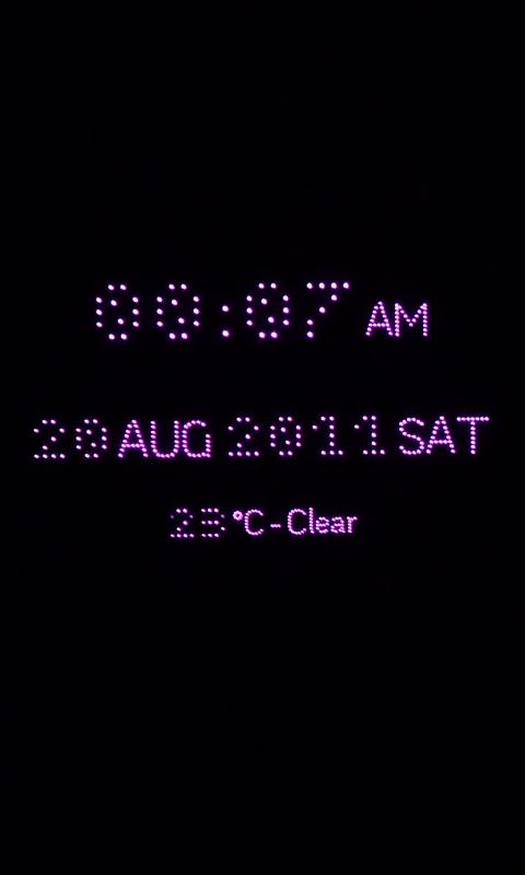 RD Night Clock- screenshot