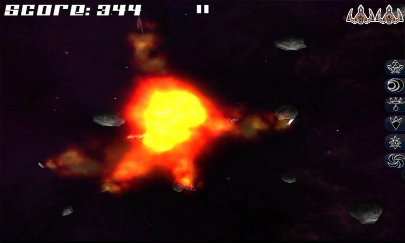 Afterburn: 3D space shooter - screenshot