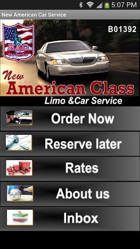 【免費交通運輸App】New American Car Service-APP點子