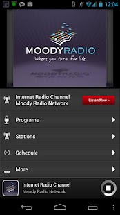 Moody Radio - screenshot thumbnail