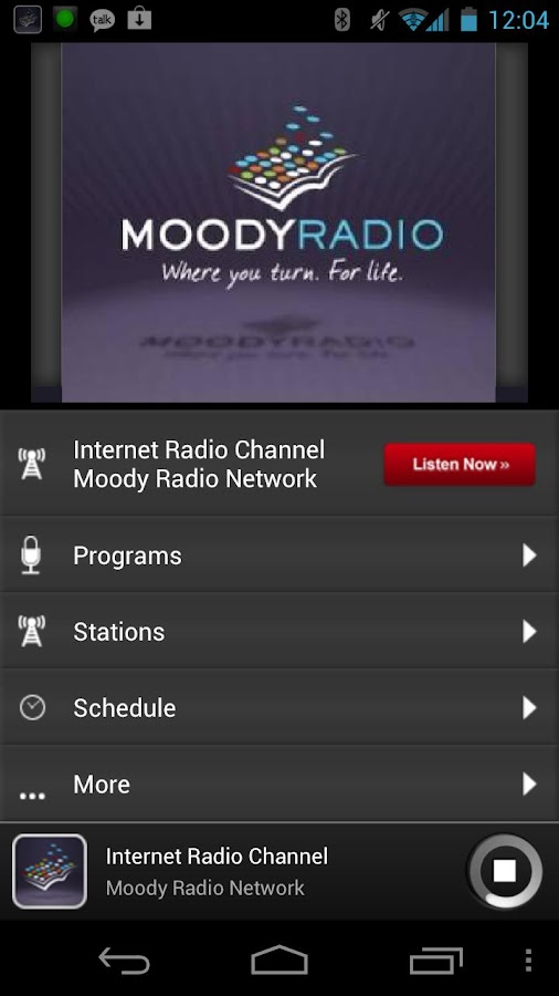 Moody Radio - screenshot