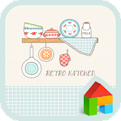 retro kitchen dodol theme