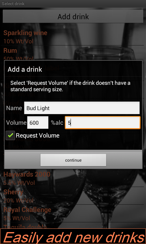 Drink Companion - screenshot