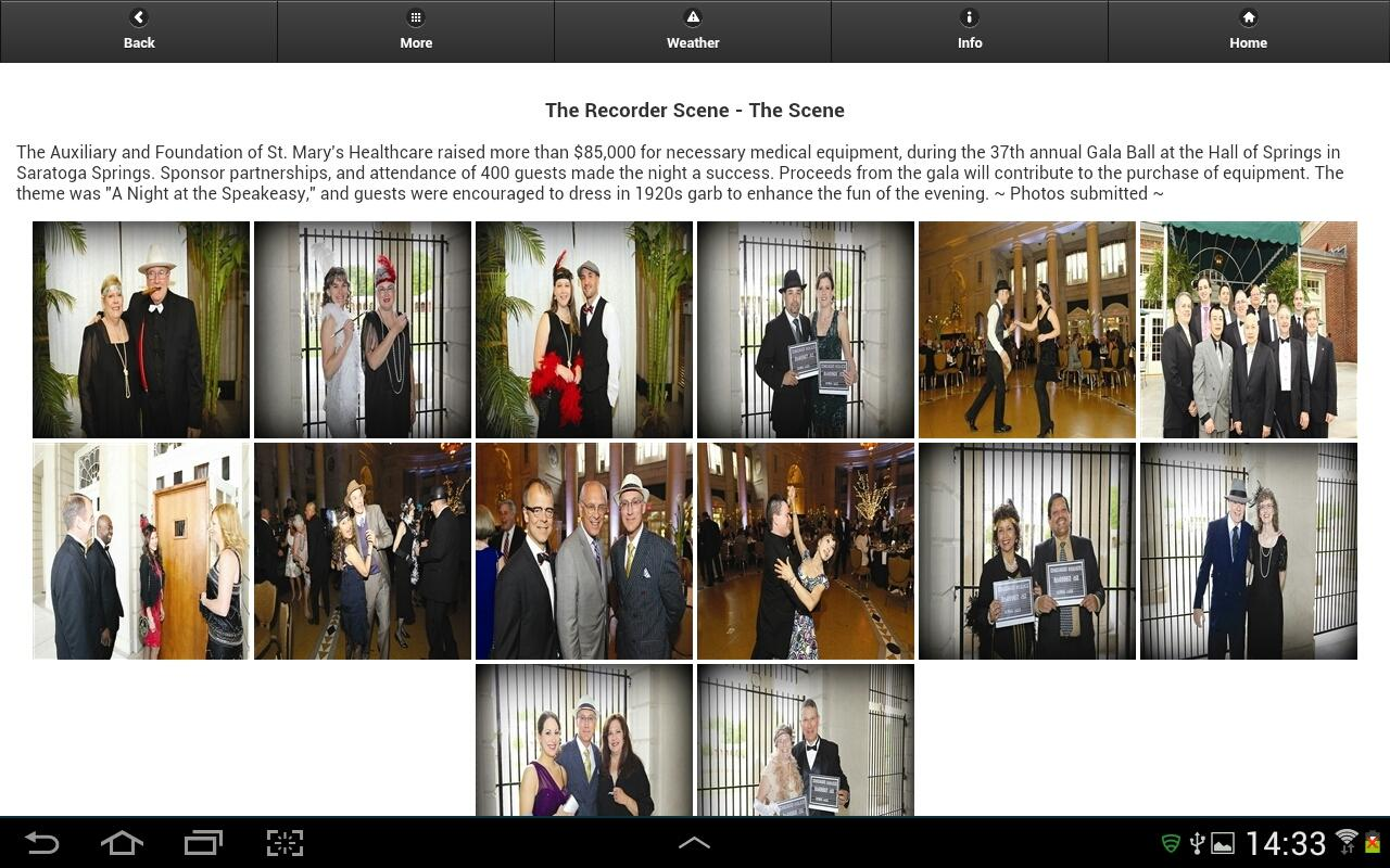 Amsterdam Recorder (Tablet)- screenshot