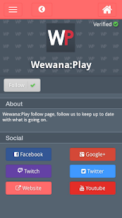 Wewana Play Connecting Gamers- screenshot thumbnail