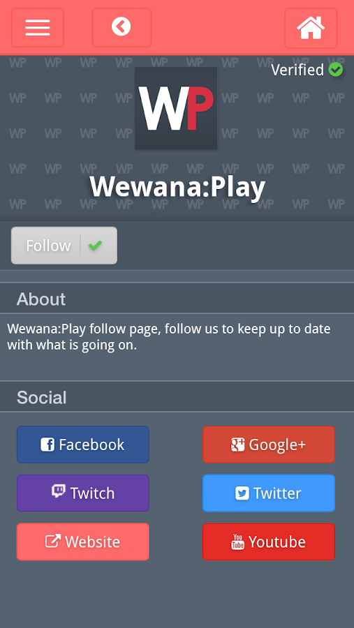Wewana Play Connecting Gamers- screenshot