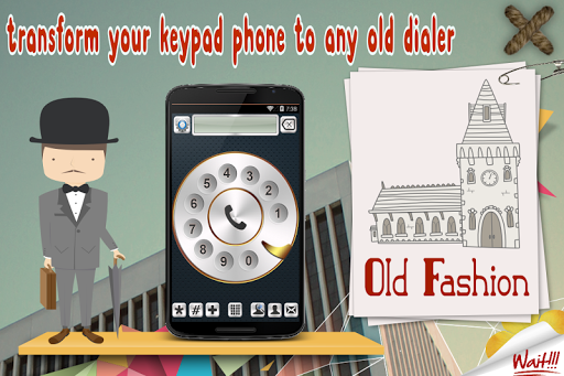 Old Fashioned Phone Dialer