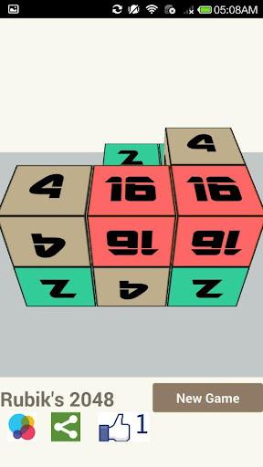 Rubik's 2048