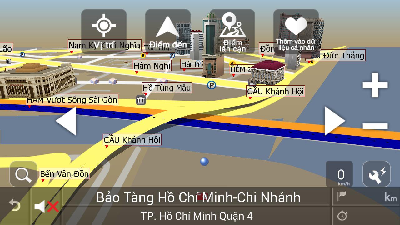 VIETMAP X10 07.2015- ảnh chụp màn hình