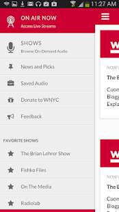 WNYC - screenshot thumbnail