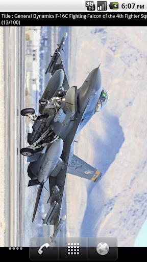 F-16 Live Wallpaper