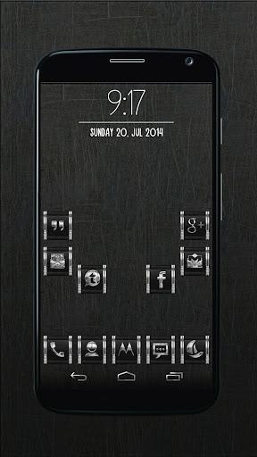 CR2 Black - Icon Pack