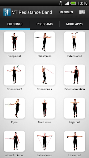 VirtualTrainer Resistance Band