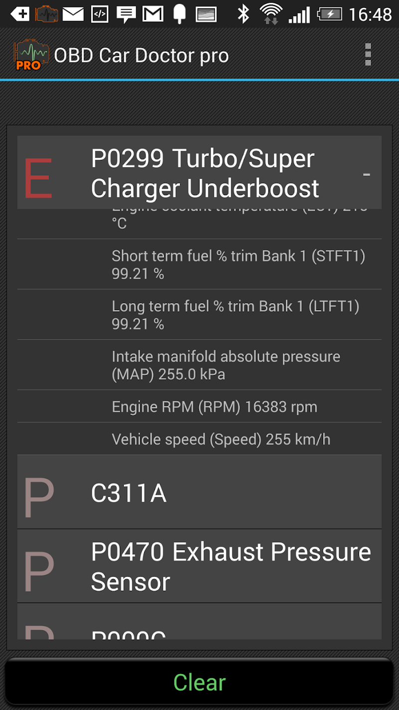 OBD Car Doctor Pro  | ELM327 OBD2 Screenshot 4