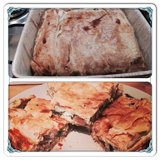 Greek Style Spinach Pie (Spanakopita)