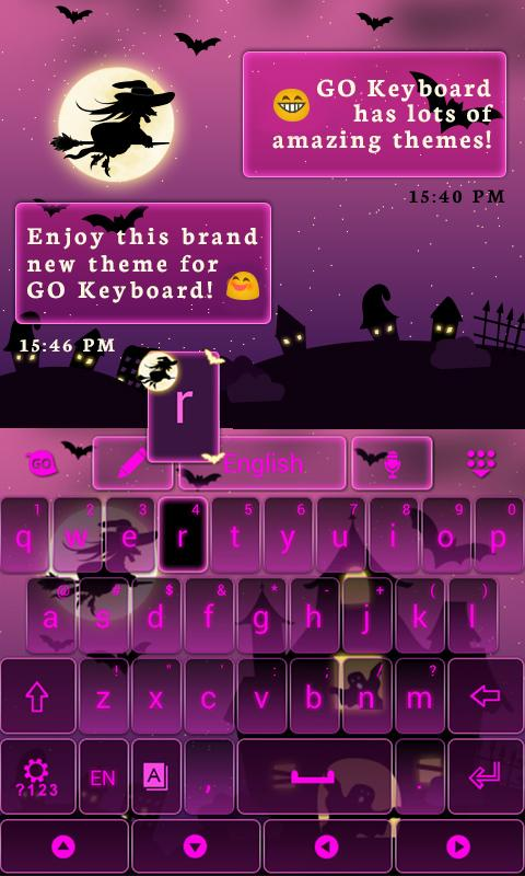 Pink-Halloween-Keyboard-Theme 9