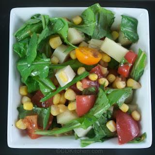 Summer Corn And Arugula Salad
