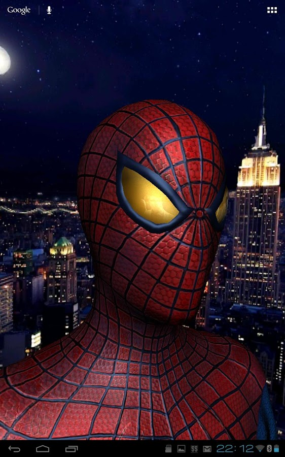 Amazing Spider-Man 3D Live WP - screenshot