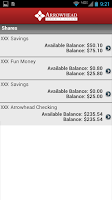 Screenshot of Arrowhead Credit Union