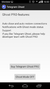 Telegram Ghost- screenshot thumbnail