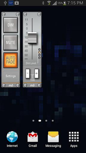 AudioBarメディアボリュームウィジェット