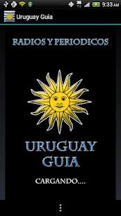 Uruguay Guide Radios n News- screenshot thumbnail