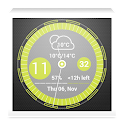 Elegance Clock For Zooper icon