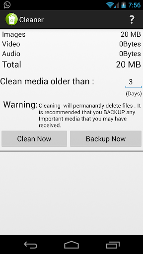 Media Cleaner for WhatsApp
