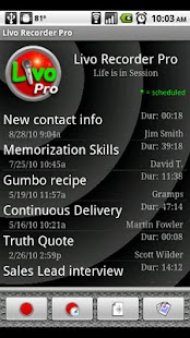 Livo Recorder Pro- screenshot thumbnail