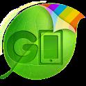 GO Keyboard Pink theme(Pad) logo