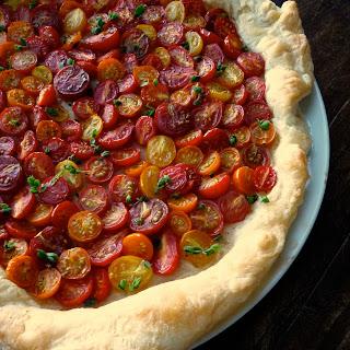 Heirloom Cherry Tomato Tart.