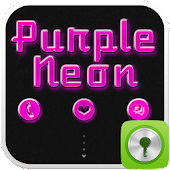 GO Locker Purple Neon
