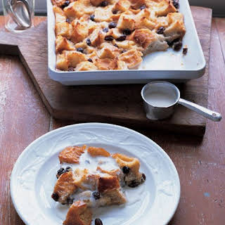 Louisiana Bread Pudding With Whiskey Sauce.
