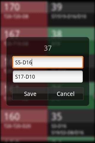 DartTrainer app trial version- screenshot