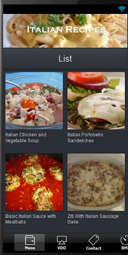意大利食譜很容易