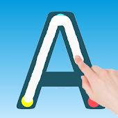 Write Alphabets ABC