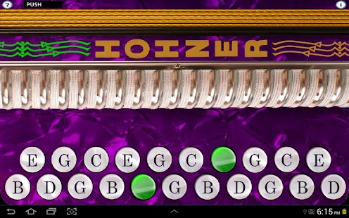 Hohner G/C Button Accordion - screenshot thumbnail