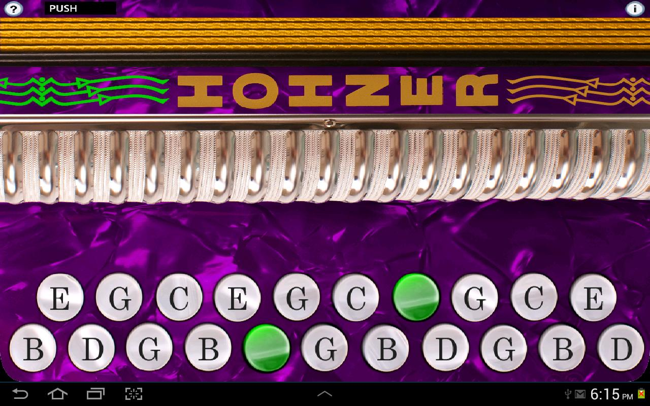 Hohner G/C Button Accordion - screenshot