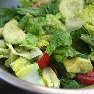 Vinaigrette for Green Salad.