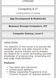 Cork College of Commerce 2014 - screenshot thumbnail